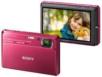 Câmera Digital Sony DSC TX7/R 10.2MP LCD Touch  - Zoom Óptico 4x / Grava Full HD / Foto Panorâmica