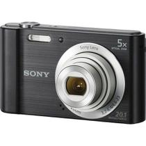 Camera Digital Sony W800 Cybershot 20 MP Zoom Optico 6x - Preta
