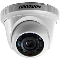Câmera Dome Hikvision Turbo Hibrida HD 2MP 1080p 2.8mm 20m IR - DS-2CE56D0T-IRPF