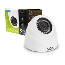 Câmera dome plastico serie orion 720p 1 megapixels alcance ir 20m 1/4 2.6mm ip66 gs0019 - Giga