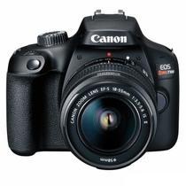 Câmera DSLR Canon EOS Rebel T100 com lente 18-55mm III -