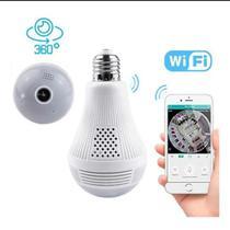 Camera Espia Segurança Lâmpada Visão de 360 Wifi V380 - Cdc