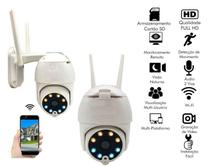 Câmera Externa Ip Wifi Speed Dome Prova água Sensor Movimento LED Visão Noturna - Durawell