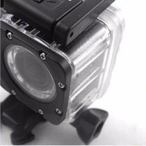 Camera Filmadora 1080 Esporte Mergulho Foto Moto HD Capacete Bike Action - Sportcam