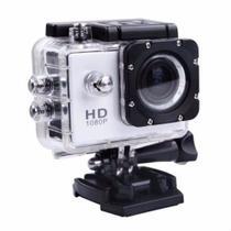 Câmera Filmadora Action Sports Cam A Prova Dágua 30m Capacete Hd 1080p - Variada
