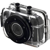 3aaeb30215ea4 Câmera filmadora de ação HD com caixa estanque e acessórios DVR785HD Vivitar