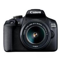 Câmera Fotográfica Canon EOS 2000D KIT 18-55 mm IS II -