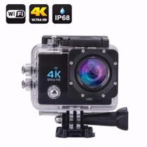 Camera Gocam Action Pro Sport 4k Full Hd Prova Agua Wifi Moto Mergulho Capacete Skate Surf Bike - Variada