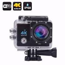 Camera Gocam Action Pro Sport 4k Full Hd Prova Agua Wifi Moto Mergulho Capacete Skate Surf Bike -