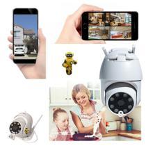 Camera Indoor/outodoor Wifi Infravermelho Visão Noturna - Jortan