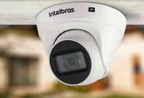 Câmera infra ip 1mp bullet vip 1130 dome hd - intelbras -