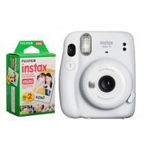 Câmera Instantânea Fujifilm Instax Mini 11 Branca + Filme -