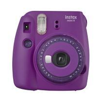 Câmera Instantânea Fujifilm Instax mini 9 ROXO AÇAÍ + filtros coloridos -