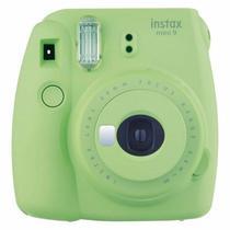 Camera Instax Mini 9 Instantanea Verde Lima Fujifilm -