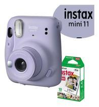 Câmera Instax Mini + Filme + Pregadores - Fuji Film