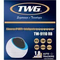 Câmera Inteligente IP Wifi 360 Robo 1 Mp 720p  Tw9110 Rb - Twg -