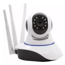 Câmera Ip 3 Antenas Wifi Wireless 3ª Geração Visão Noturna - Megaace