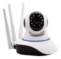 Câmera Ip 3 Antenas Wifi Wireless 3ª Geração Visão Noturna - Vixxer