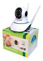 Camera ip babá eletrônica 720p p2p hd wireless 3 antenas c\ audio - China.Inc