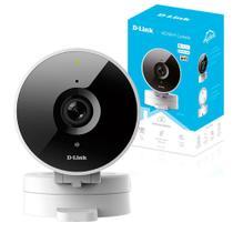 Câmera IP D-Link HD 720P Wi-Fi 120º Visão Noturna slot para cartão SD DCS-8010LH -