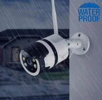 Câmera Ip Externa Ip66 Prova D'agua Wifi HD 1080p - Tlt