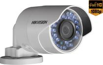 Câmera IP Full HD Bullet PoE Hikvision 4mm 1080p 30Mts IP67 - DS-2CD2020F-I