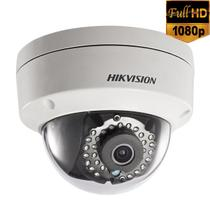 Câmera IP Full HD Dome PoE Hikvision 2.8mm 1080p 30Mts IP67 IK10 - DS-2CD2120F-I