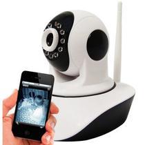 Câmera IP HD 1.3 Megapixel 720P Wi-Fi Infravermelho e Movimentação - Acesso Celular - Jortan