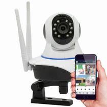 Câmera IP Robô Sem Fio FULL HD 1080p 360º Áudio - Jortan