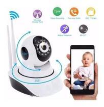 Câmera IP Robô Sem Fio FULL HD  360º Áudio - On Line