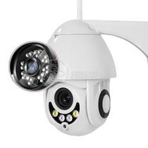 Câmera IP Rotativa Speed Dome 355º a Prova D'Água Externa Segurança WiFi Infravermelho Full HD 1080p - Icsee