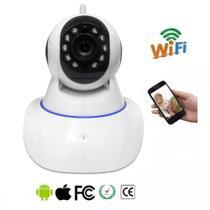 Camera Ip Sem Fio Visao Noturna Controle Via Internet Audio baba eletronica - Bms