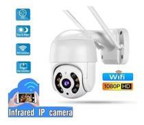 Câmera Ip V380 Prova D'água Infravermelho Externa Wifi FULL HD - Sumexr