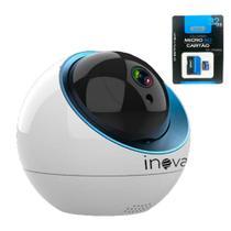 Câmera IP Wi-fi PTZ Onvif Auto Tracking CAM-5704 + Cartão de Memória 32GB - Inova