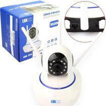 Camera Ip Wifi Com 3 Antenas Onvif Hd P2p 360 - Luatek