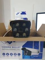 Câmera Ip Wifi Externa 2 Antenas Fullhd Acesso Remoto Luatek LKW-3420 -
