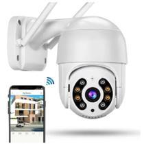 Câmera Ip Wifi Gira 320 Ptz Dome Câmera suporte remoto cel - A.R Variedades Mt