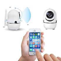 Camera Ip Wifi Giratória 1080p Estilo Babá Eletrônica Com Visão Noturna e Alerta De Movimento - Não Informada