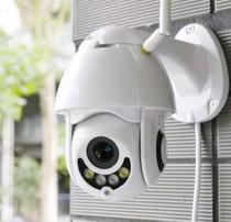 câmera ip wifi HD prova d'água infravermelho externa - Telintec
