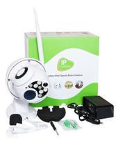 Câmera Ip Wifi Rotativa Externa Dome Prova Da Água Hd - Dex
