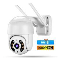 Câmera Ip Wifi Rotativa Externa Dome Prova De Água Hd Icsee - Hamy