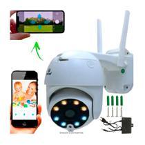 Câmera Ip Wifi Rotativa Externa Dome Prova De Água Hd Ipc360 - Jortan