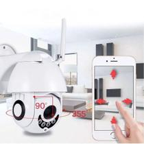 Câmera Ip Wifi Rotativa Externa Micro espiã Top Smart HD - Smart Câmera