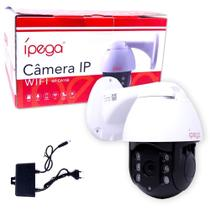 Câmera IP Wifi Sem Fio com Ptz Speed Dome a Prova de Água Externa KP-CA156 Ípega com Zoom -