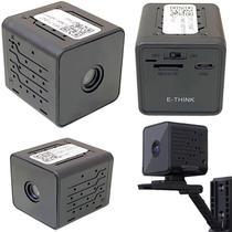 Câmera Monitora Segurança Espiã Wifi HD Filma no Escuro Portátil Acesso Via Aplicativo Celular - Lx