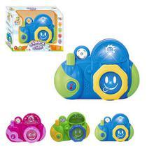 Câmera Musical Infantil Baby Click Com Luz - Wellmix