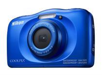 Câmera Nikon À Prova D'água Wifi Coolpix W150 Azul -