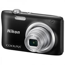 Câmera Nikon Coolpix A100 Preta -