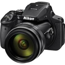 Câmera Nikon COOLPIX P900 com 16MP e Zoom de 83x -