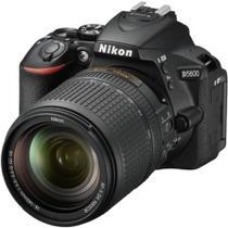 Câmera Nikon D5600, 24.2MP, Wi Fi, Lente AF-S DX NIKKOR 18-140mm VR - Preto -
